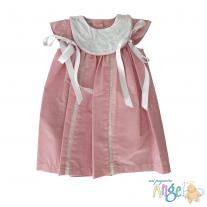 Vestido Rosa con Listones