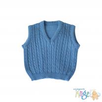 Chaleco - Azul Ópalo