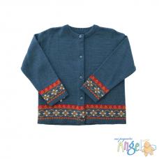 Suéter Azul Decorado